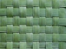 Pattern weaving of banana leaves Stock Photo