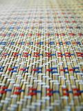 Pattern of weaving. Thai style mat Royalty Free Stock Image