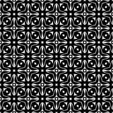 Vector Black and White seamless pattern design Stock Photo