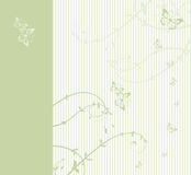 Pattern of wedding card Royalty Free Stock Image