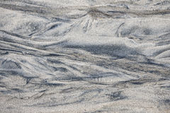 Pattern in wet sand Stock Photography