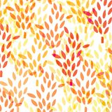 Pattern with wheat Royalty Free Stock Images