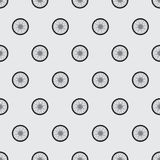 Pattern of the wheels of a motorcycle Royalty Free Stock Photography