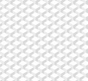 Pattern of white columns seamless texture. Abstract pattern of white columns cubes. Seamless texture Royalty Free Stock Photography
