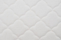 Pattern on the white mattress Royalty Free Stock Photography