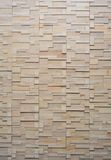 Pattern of white modern brick Stock Image