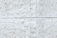 Pattern of White Modern stone Brick Wall Surfaced Stock Images