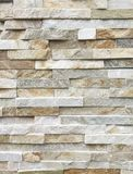 Marble wall, Pattern of White Modern stone Brick Wall Surfaced Royalty Free Stock Photography