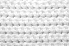 Pattern from white threads Stock Image