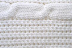 Pattern from white threads Royalty Free Stock Photos