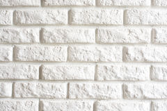 Pattern of white wall Stock Image