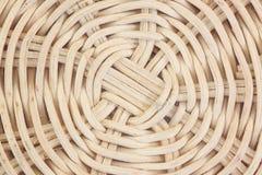 Pattern of wicker basket. Stock Photos