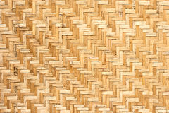 Pattern of wickerwork. Pattern of thai style wickerwork made from bamboo Stock Image