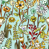 Pattern of wild flowers Stock Photography