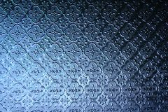 Pattern on window glass background Stock Images