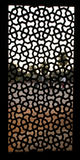 Pattern window at Humayun Tomb, Delhi Stock Photos