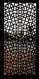 Pattern window at Humayun Tomb, Delhi Stock Photos