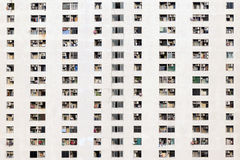 Pattern of windows Royalty Free Stock Photography