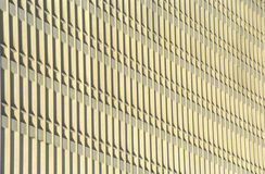 Pattern of windows on office building Royalty Free Stock Image