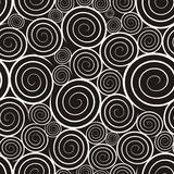 Pattern With Spirals Stock Images