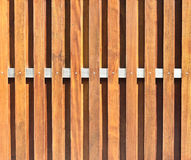 Pattern of wood fence. Beautiful pattern of brown wood fence background Royalty Free Stock Photo
