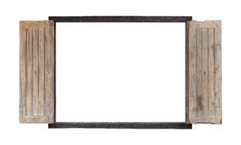 Pattern of wood frame Stock Photos