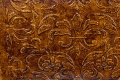 Pattern on the wood surface Royalty Free Stock Photo