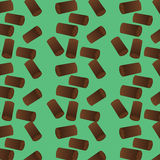 Pattern with wood. Vector illustration of firewood. Pattern with wood Royalty Free Stock Images
