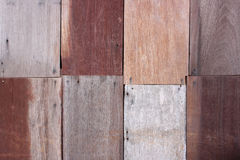 Pattern of wood wall Stock Images
