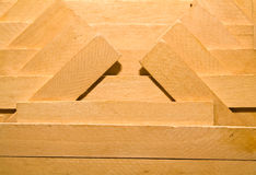 Pattern from wooden boards Royalty Free Stock Photography
