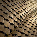 Pattern Wooden Fretwork Background. Pattern made from intricate fretwork wooden pieces Royalty Free Stock Images