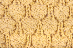 Pattern from a wool. The pattern of a product from a wool in the form of a background Royalty Free Stock Photos