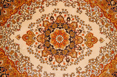 Pattern wool carpet. Colored paint stock photography