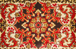 Pattern wool carpet Royalty Free Stock Photography