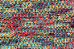 Pattern of woven fabric colorful. Stock Image