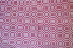 Pattern of woven fabric colorful. Royalty Free Stock Image
