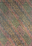 The pattern on the woven fabric. Woven fabric a crafting profession is famous for Amphoe Na Pho. In Buri Ram Province, Here is a major exporter of woven fabric Royalty Free Stock Photo