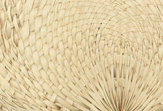 Pattern Woven fans Leaves Royalty Free Stock Image