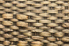 Pattern of woven rattan Royalty Free Stock Image