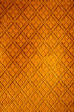 Pattern woven in Thailand. Stock Photos
