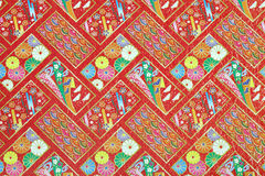 Pattern on the wrapper Royalty Free Stock Photography