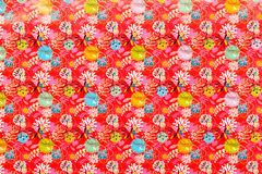 Pattern of wrapping paper. Stock Images