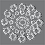 The pattern of wreaths Stock Photo