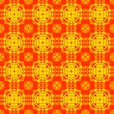 Pattern yellow geometric kaleidoscope symmetry. decorative shape. Pattern yellow geometric kaleidoscope symmetry abstract design. decorative shape stock illustration