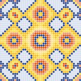 Pattern yellow squares Stock Image