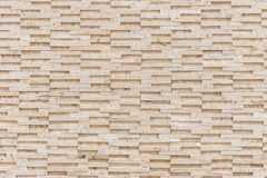 Pattern of yellow travertine wall texture Royalty Free Stock Images