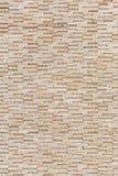 Pattern of yellow travertine wall texture Stock Photography