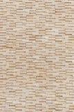 Pattern of yellow travertine wall texture Stock Photo