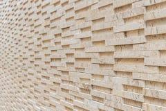 Pattern of yellow travertine wall texture Royalty Free Stock Image