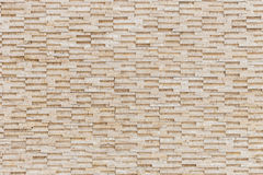 Pattern of yellow travertine wall texture Royalty Free Stock Photo